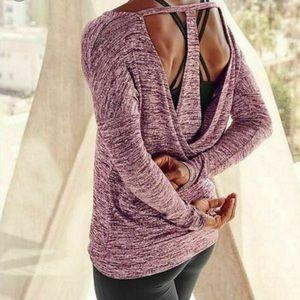 Athleta Soft Pose Layered Top